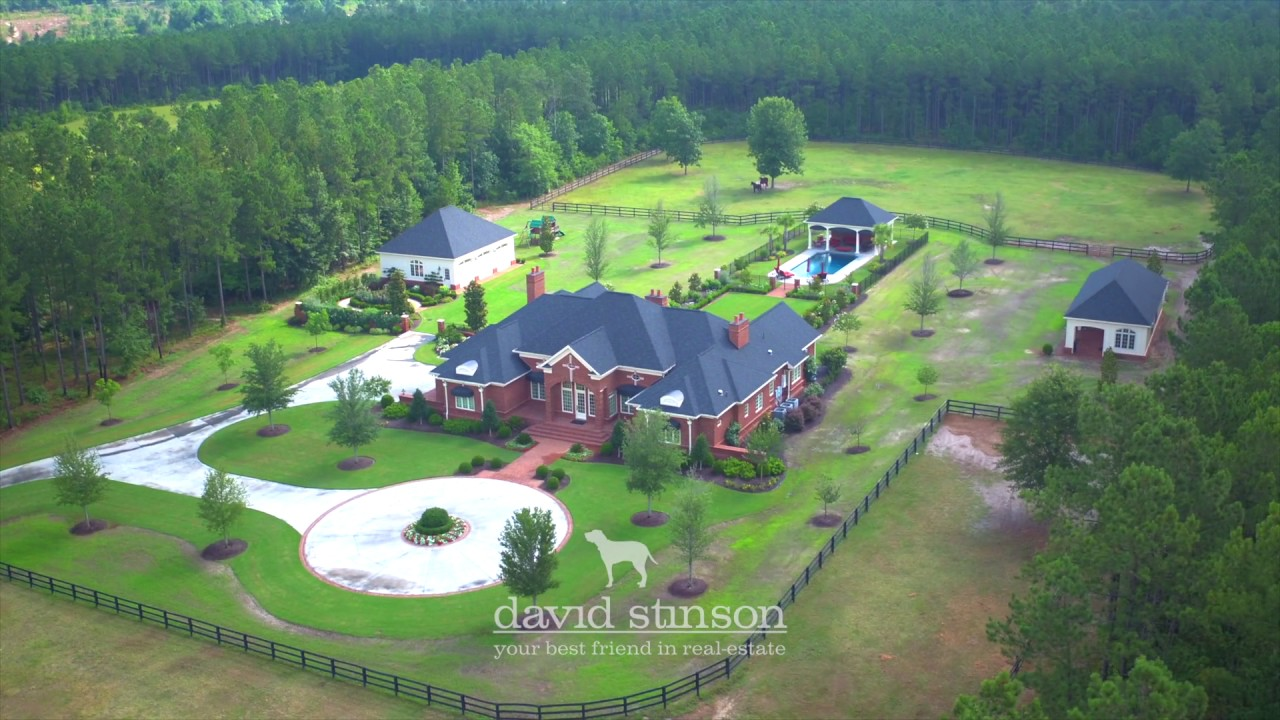 Luxury Home For Sale Aiken South Carolina Equestrian