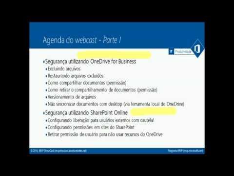 Quintas da TI 2014  - Unindo produtividade com segurança no Office 365