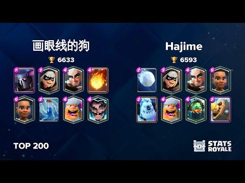 画眼线的狗 Vs Hajime [TOP 200]