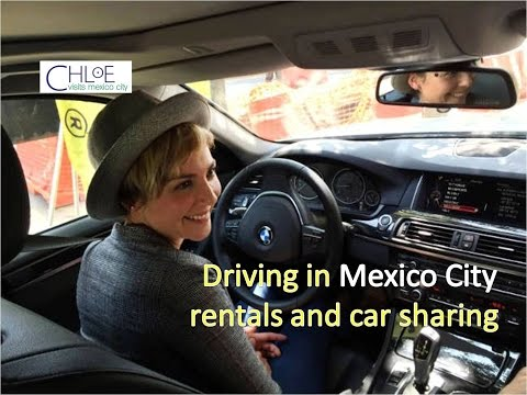 Driving in Mexico City, rentals and car sharing