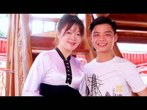 Bén duyên với em gái dân tộc Thái || Gái xinh bản người Thái #2