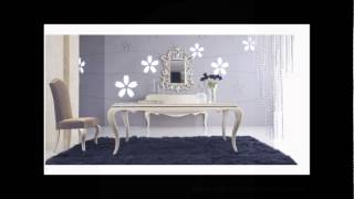 Italian Style Modern Dining Table - Cream Gloss - Bellissimo