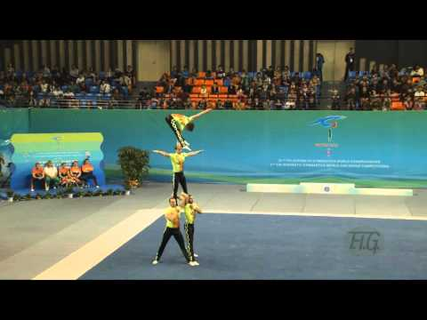 Bulgaria (BUL) -  2016 Acrobatic Worlds, Putian City (CHN) Combined  Men's Group