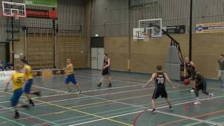 18-3-2017 Rivertrotters U22 vs Cobra Nova U20 64-48 1st period