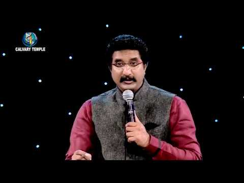 Daily Promise and Prayer by Bro. P. Satish Kumar from Calvary Temple - 20.05.2018