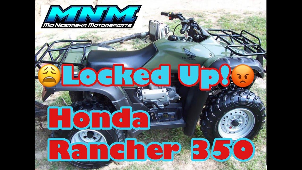 complete honda rancher trx 350 es 4x4 engine tear down motor rebuild rh youtube com 2001 honda rancher 350 engine diagram 2000 honda rancher 350 engine diagram