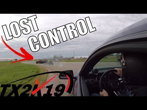 FBO Mustang GT makes Corvette Z SH*T its Pants During Track Day! (TXK)