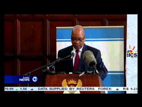 President Zuma says the collective strength of Brics is a major factor in global economics.