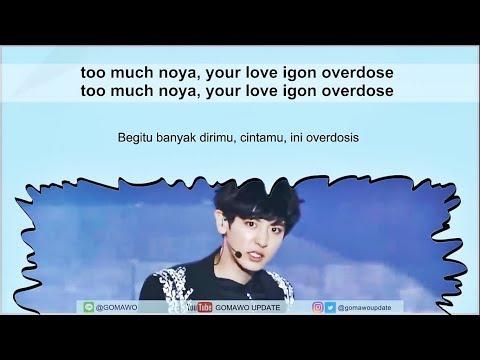 Easy Lyric EXO K - OVERDOSE By GOMAWO [Indo Sub]