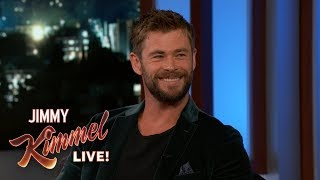 Chris Hemsworth on Thor: Ragnarok