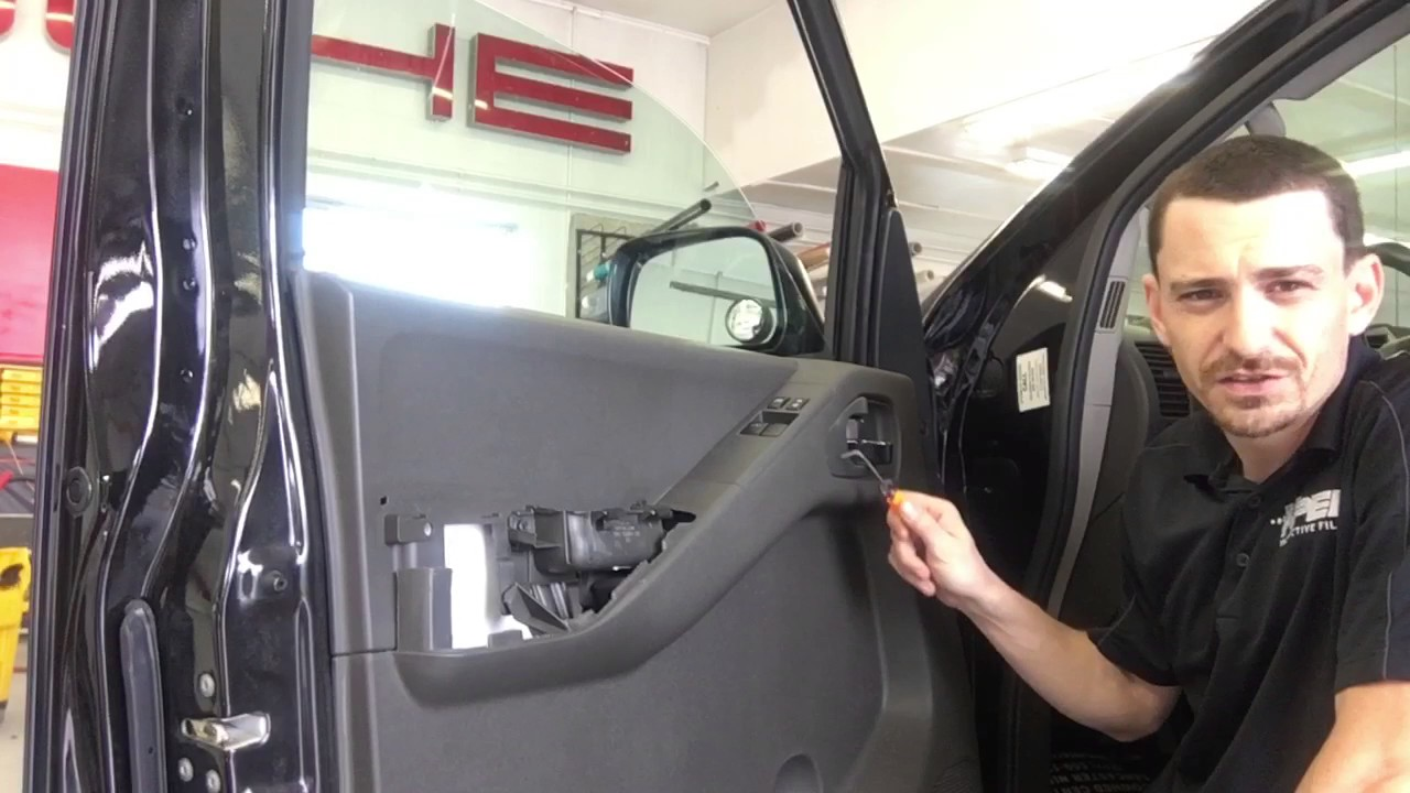 Nissan Frontier Door Panel Removal Youtube