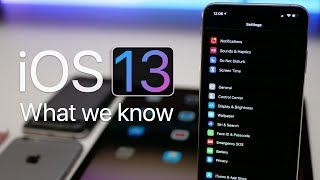 iOS 13 - What We Know So Far - Dark Mode and More