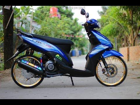 Modifikasi Matic Yamaha MIO J Kece
