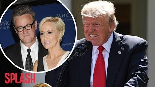 President Trump Slams MSNBC's Mika Brzezinski with Twitter Shot | Splash News TV