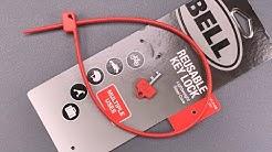 "[1096] A Zip Tie Bike Lock? Bell's ""Reusable Key Lock'"