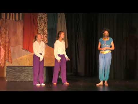 Laredo Middle School: Aladdin and the Magic Lamp
