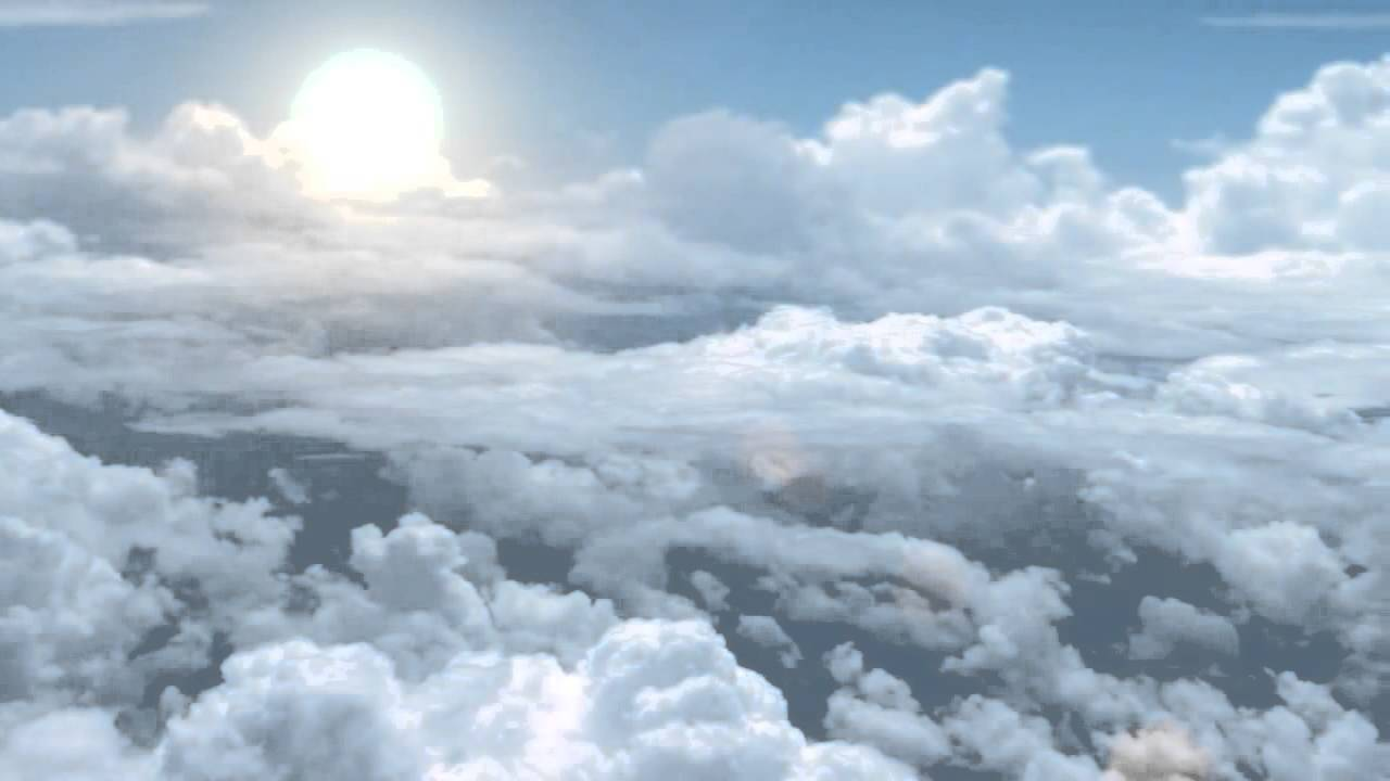 animated clouds motion background youtube