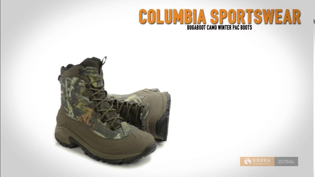 Columbia Sportswear Bugaboot Camo Snow Boots Waterproof