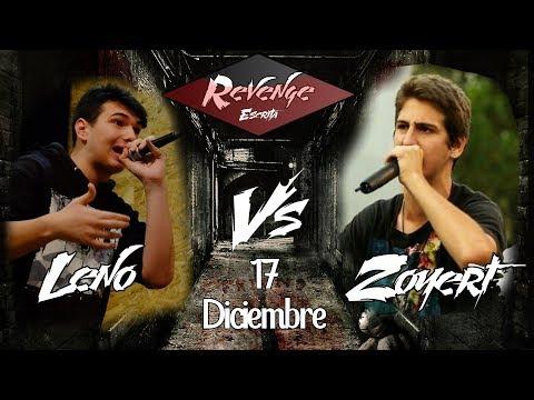 LENO vs ZOYERT - REVENGE ESCRITA