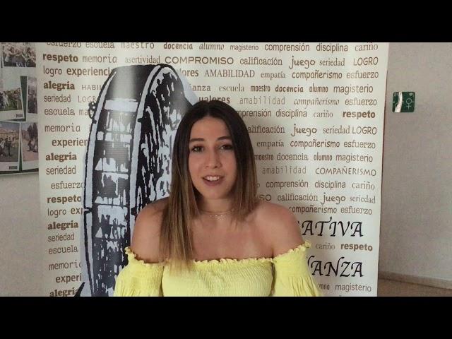 Testimonio alumna Cipriano Galea