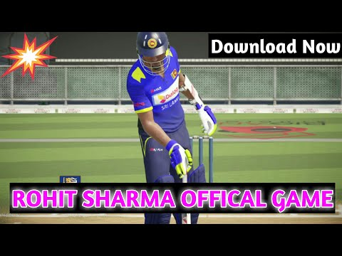 [Download Now] Finally Rohit Sharma Offical Cricket Game Is Lauched For Android ✌Download Now