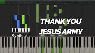 Download Mp3 Synthesia - Thank You | Jesus Army Songs