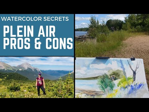 pros-&-cons-of-plein-air-watercolor-painting