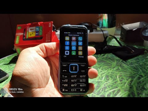 "Leagoo B23 Очень громкая ""кнопка"" с хорошей батареей"