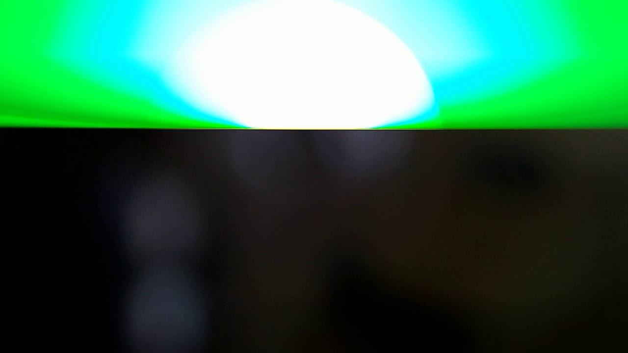 Blackberry green flashing light verses orange love