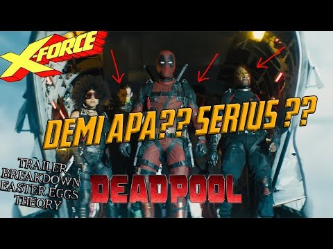 "Film Perdana X-Force ?? Deadpool 2 ""Meet Cable"" Trailer Easter Eggs & Breakdown Indonesia"