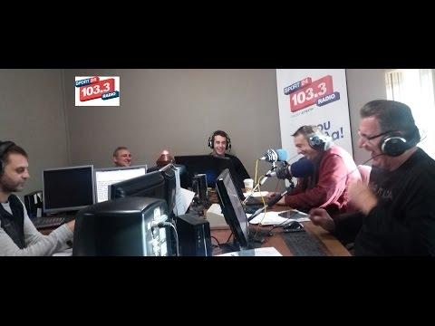 Konstantinos LIVE at Sport24radio 103.3FM 5/1/2017 08:45-10:00