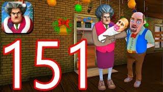 Scary Teacher 3D - Gameplay Walkthrough Part 151 - New Christmas Levels (iOS/Android))