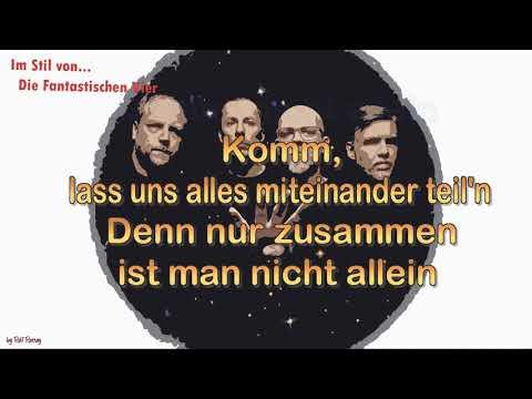 Die Fantastischen Vier - featClueso- Zusammen - Cover