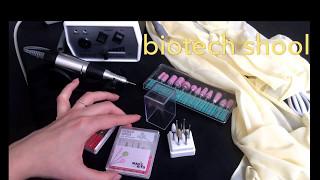 Фрезы для маникюра! Обзор фрез с Aliexpress, biotech school, красотка pro
