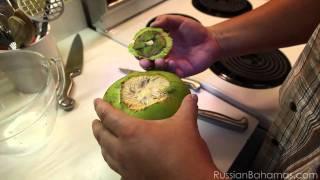 Как открыть кокос - два способа