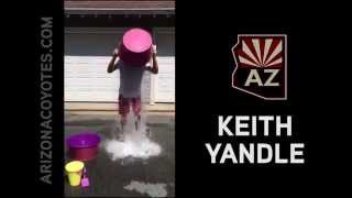 Keith Yandle Ice Bucket Challenge