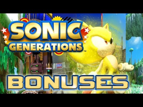 Sonic Generations - Bonuses
