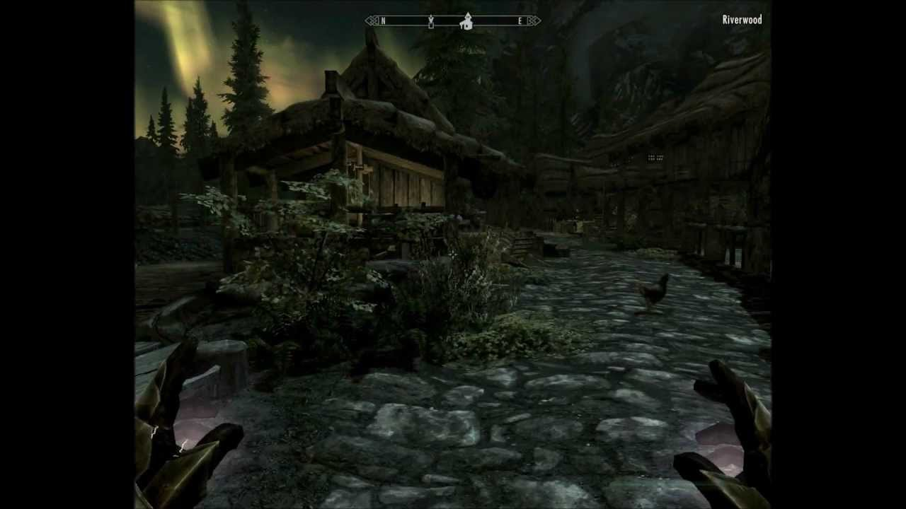 Skyrim - Treasure Map 1 I (Riverwood) - YouTube