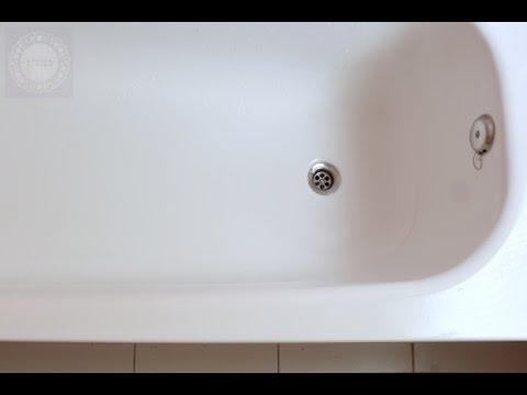 como quitar el sarro de la tina del bano