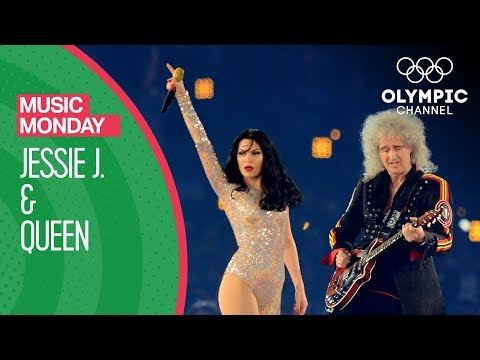 Queen & Jessie J's London 2012 Performance | Music Monday