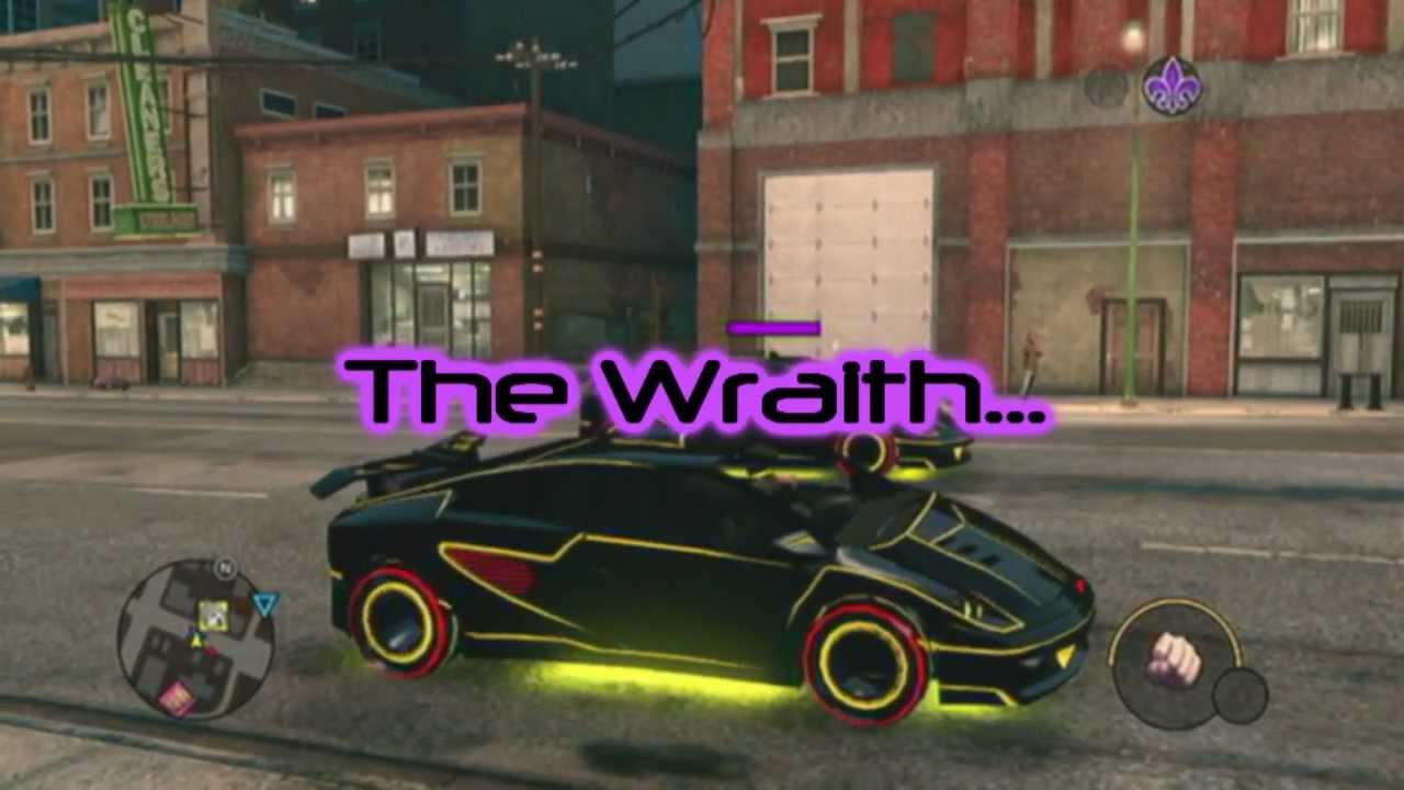 The Fastest Car In Saints Row The Wraith YouTube - Fast 4 car list