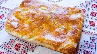 Пирог с картошкой и гречкой Как приготовить пирог Пиріг із картоплею і гречкою Простой пирог