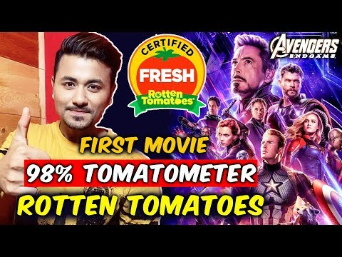Avengers Endgame Review | FIRST MOVIE EVER | Rotten Tomatoes 98 % Tomatometer