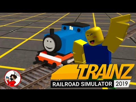TRAINZ 2019 BUT IT'S ROBLOX IN 2010: Trainz Simulator 2019 |