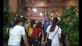 NCRPO checks churches on first day of Simbang Gabi