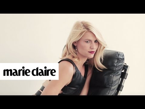 Claire Danes | Behind the Scenes | Marie Claire