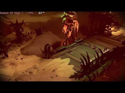 🎮 AMD Radeon RX Vega 7 - Darksiders Genesis gameplay benchmarks (1080p) |