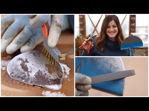 How to Clean & Sharpen Your Garden Tools! 🛠👍// Garden Answer