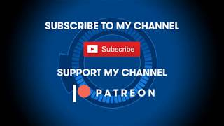 Support my channels on Patreon!