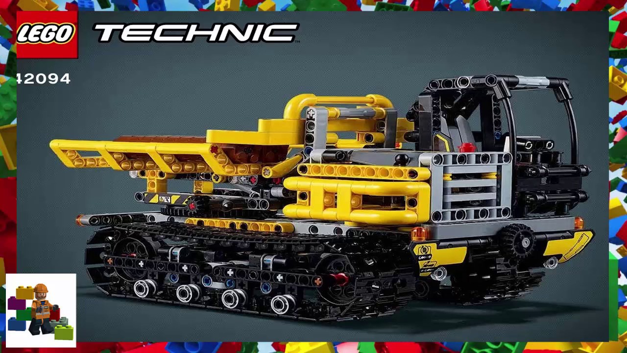 lego instructions technic 42094 tracked dumper youtube. Black Bedroom Furniture Sets. Home Design Ideas
